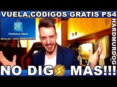 ¡¡¡VUELA,CÓDIGOS GRATIS PS4!!!
