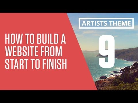 How to Build a Responsive Website From Start to Finish - the work section - part 9