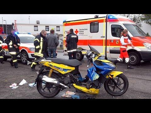 Korbach: Rentnerin verursacht schweren Unfall