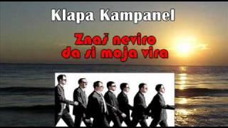 Klapa Kampanel - Znaš neviro da si moja vira