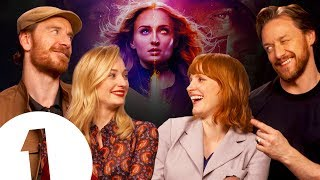 """""""Ask for more money!"""" The X-Men: Dark Phoenix Cast on Bloopers, F-Bombs and Life as X-Men."""
