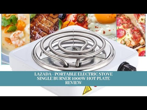 Portable Electric Stove Single Burner 1000W Hot Plate