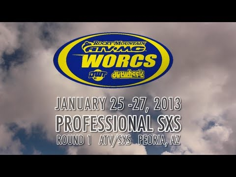 sxs 1 - WORCS SxS Round 1 Race Report Peoria, AZ -- The 2013 Rocky Mountain ATV MX WORCS SxS series Presented by Motoworks and Dirtwheels kicked off in a wet fashion...