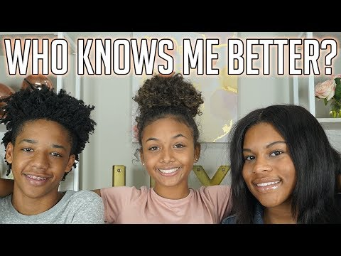 Who Knows Me Better Challenge? Bf Or Bff | Lexivee03