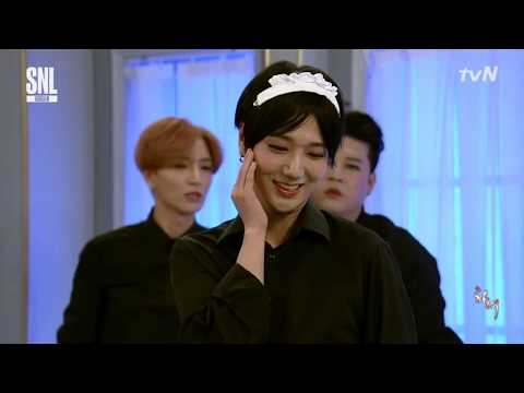SNL9 - 슈퍼 주니어 (Super Junior) What is the size of Shin Dong-Yup? #Maids