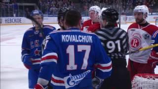 2017 Gagarin Cup, Vityaz 1 SKA 3 (Game 1)