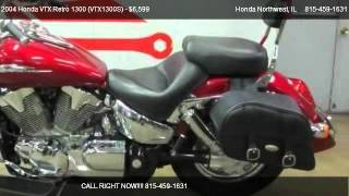 1. 2004 Honda VTX Retro 1300 (VTX1300S)  - for sale in Crystal Lake, IL 60014