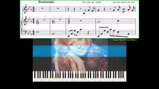 Анна Герман - Письмо Шопену (Ноты, Видеоурок для фортепиано) (piano tutorial)