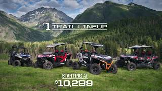 6. 2019 RZR Trail Lineup | Polaris RZR®