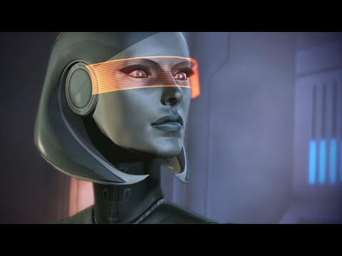 Mass Effect Trilogy: EDI All Scenes Complete(ME2, ME3) (видео)
