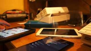 Unboxing the Google Nexus 7 2nd generation and comparing to Kindle Fire HD fonts, and also compare to the Galaxy Note 8 screen resolution. The Nexus 7 2nd ge...