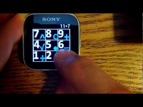 Video of Calculator for Sony SmartWatch