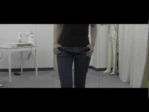 new pattern pants 超ローライズパンツ