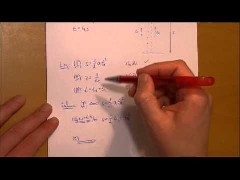 Wie tief ist der Brunnen? - freier Fall - komplexe Aufgabe Physik