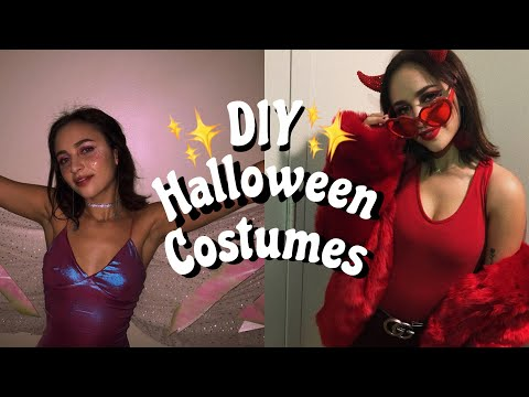 devil & fairy halloween costumes (diy, affordable, easy) ♡