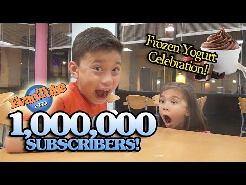 evantubehd's - EvanTubeHD just hit 1 million subscribers! So we're going out to celebrate with some Frozen Yogurt! FOLLOW US! Instagram: http://www.instagram.com/evantubehd...