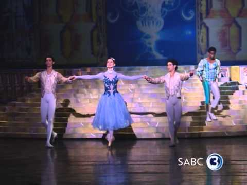 Behind the scenes of the Cinderella ballet
