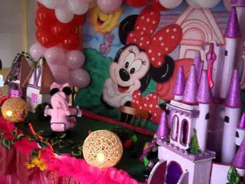 Morizinhos Festas Jardim Da Minnie