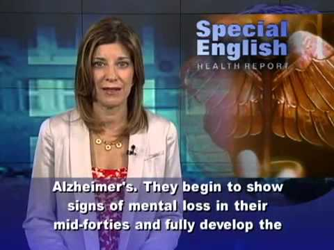 VOA English Special 02 - (A Campaign Against Alzheimer's Disease)