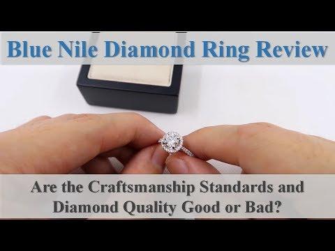 Blue Nile Signature Diamond Ring Review