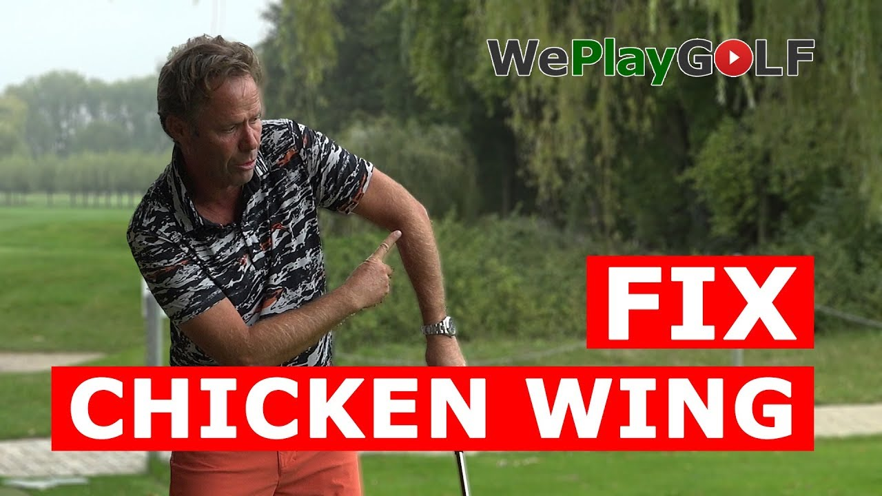 No more CHICKEN WING in your GOLF SWING - a simple fix