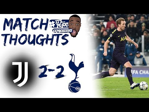 Juventus (2) vs Tottenham (2) EXPRESSIONS MATCH REVIEW  | Champagne Football at the Allianz....