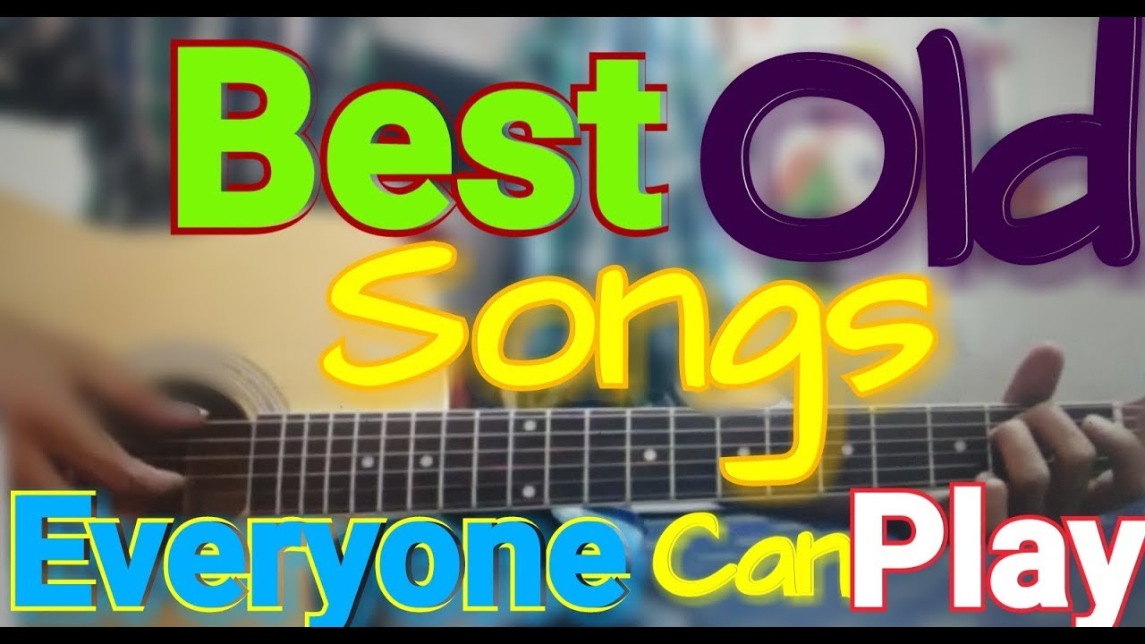 9 BEST OLD Songs – Open Chords – Old Rendition – Extreme Beginners Guitar cover lesson chords Hindi