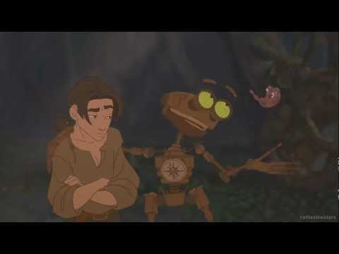 Treasure Planet - Jim Meets (finds) B.E.N (Blu-Ray)