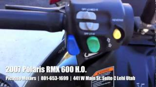 8. 2007 Polaris RMX 600 HO