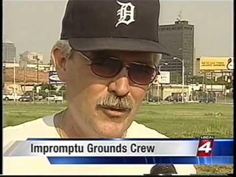 Tiger Stadium Impromptu Grounds Crew