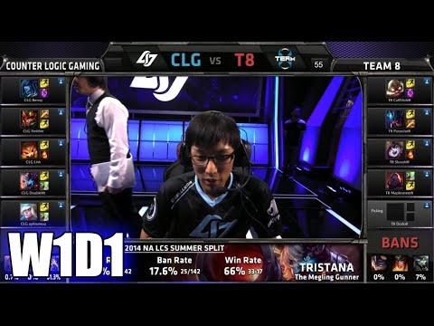 Spring - Team 8 vs CLG S5 NA LCS Spring 2015 Week 1 Day 1 | T8 vs CLG G1 W1D1 | Team 8 vs Counter Logic Gaming Game 1 W1D1 VOD 60 FPS. S5 NA LCS Spring split 2015 playlist: ...