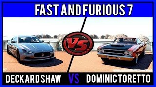 Nonton Fast and Furious 7 - Dominic Toretto Roadrunner VS Deckard Shaw Maserati Film Subtitle Indonesia Streaming Movie Download