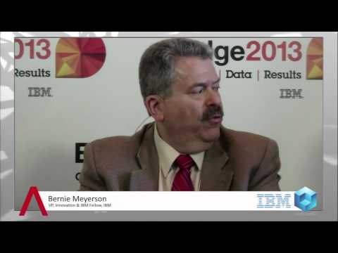 Meyerson - Bernie Meyerson, IBM at IBM Edge 2013 with John Furrier and Dave Vellante In their ongoing coverage of IBM Edge 2013, John Furrier and Dave Vellante spoke wi...