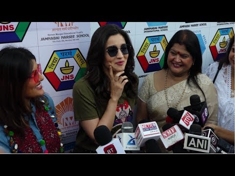 Alia Bhatt At Jamnabai Narsee School Educational Trust Sports Meet For Special Children