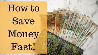 HOW TO SAVE MONEY FAST!   BUDGETING & INVESTING TIPS FOR INDIA   Ranju N