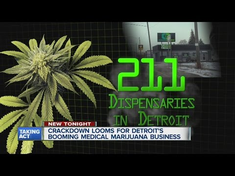 Crackdown looms for Detroit's booming medical marijuana business