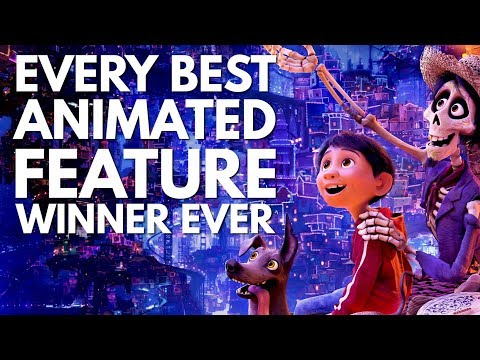 A Supercut of Every Best Animated Film Oscar