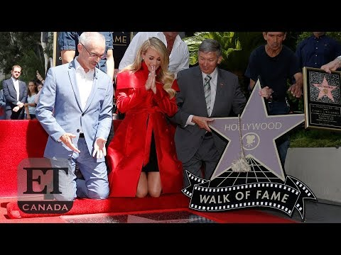Carrie Underwood Gets Star On Hollywood Walk Of Fame: Full Speech