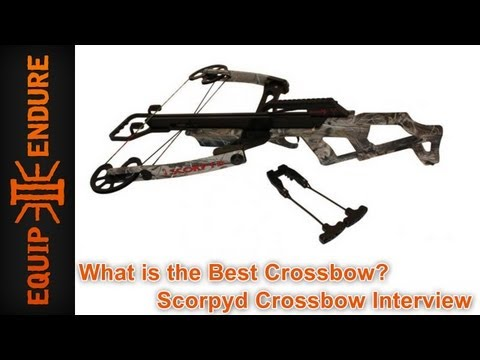 crossbow - Daryl of The Walking Dead needs this Crossbow, Zombies look out. This interview took place at the Self Reliance Expo. The Scorpyd Crossbow is like nothing you have seen. One of the most...