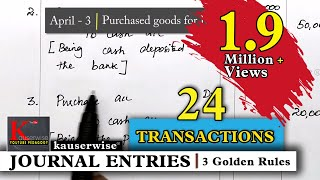 Nonton Journal Entry For  24 Transactions  Simple Explanations   By Kauserwise Film Subtitle Indonesia Streaming Movie Download