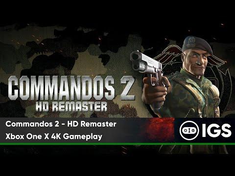 Commandos 2 - HD Remaster | Xbox One X 4K Gameplay