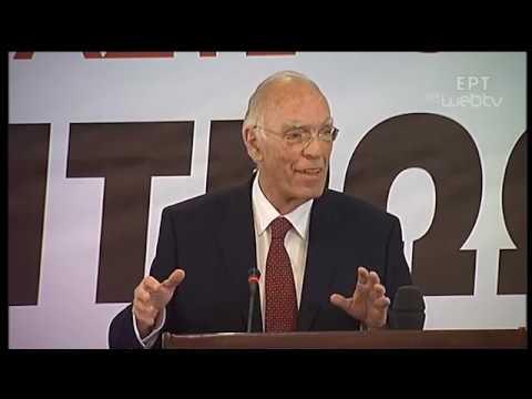 Ομιλία του Προέδρου της ΕΝΩΣΗΣ ΚΕΝΡΩΩΝ Β. Λεβέντη στην Αθήνα | 31/05/2019 | ΕΡΤ