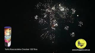 Torta 133 tiros rascacielos cracker