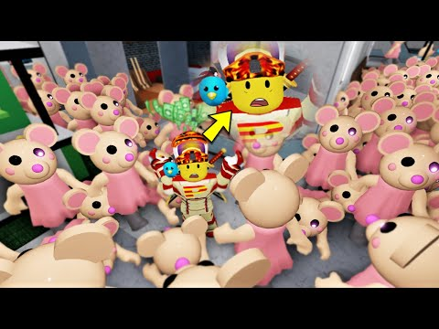 ROBLOX PIGGY...MOUSY INVASION!!(including robby's legs...)