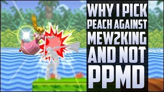 Why Armada picks peach against M2K and not PPMD's Marth.