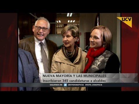video Nueva Mayoría inscribió 345 candidaturas a alcaldes para próximas elecciones municipales