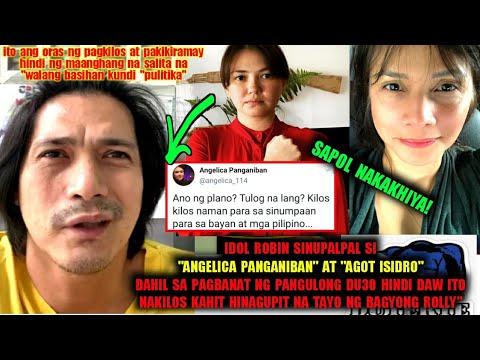 """Angelica Panganiban at Agot Isidro supalpal kay idol Robin sa pagpuna ng pangulong du30""""kakahiya😱"""