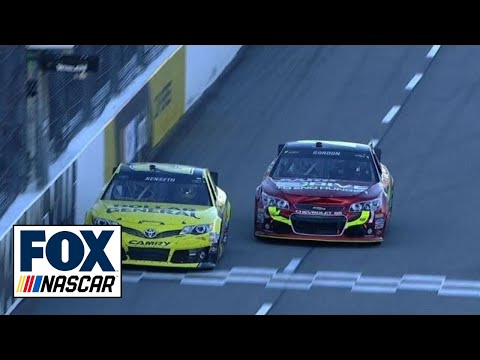 Highlights of Jeff Gordon's win at Martinsville - NASCAR 2013
