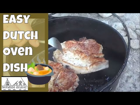 Easy Dutch Oven Mushroom Pork Chops And A Rocket Launch