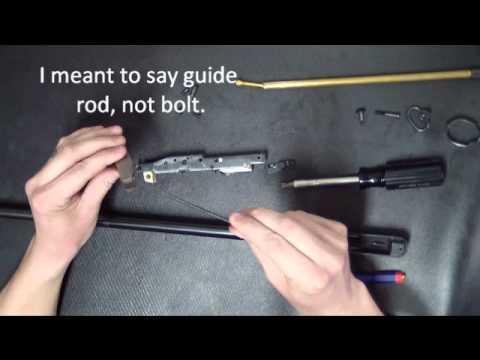 Glenfield Model 75 by Marlin Firearms Co. (видео)